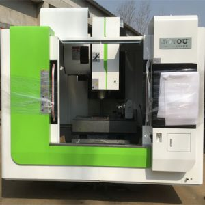 The 4th axis CNC milling machi